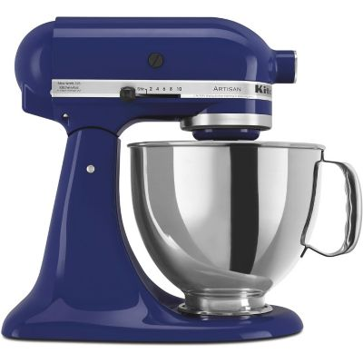KitchenAid 5-Quart Cobalt Blue 325 Watt Tilt-Back Head Stand Mixer with Pouring Shield