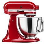 KitchenAid® 5-Quart Capacity Red Tilt-Head Stand Mixer