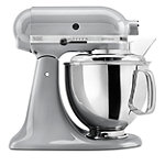 KitchenAid® 5-Quart Metallic Chrome 325-Watt Tilt-Head Stand Mixer with Pouring Shield