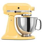 KitchenAid 5-Quart Majestic Yellow 325-Watt Tilt-Back Head Stand Mixer with Pouring Shield