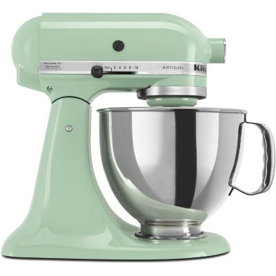 KitchenAid 5-Quart Pistachio 325-Watt Tilt-Back Head Stand Mixer with Pouring Shield