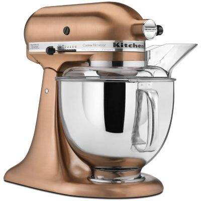 KitchenAid 5-Quart Satin Copper 325-Watt Tilt-Back Head Stand Mixer