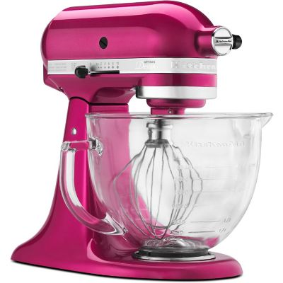 KitchenAid 5-Quart Raspberry Ice Stand Mixer