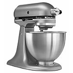 KitchenAid 4.5-Quart Silver Tilt-Head Stand Mixer 249.99