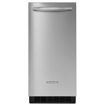 KitchenAid 15'' Stainless Steel Automatic Ice Maker
