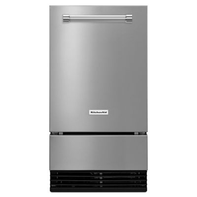 KitchenAid® 18'' Stainless Steel Automatic Ice Maker