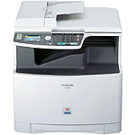 Panasonic Color Laser Multi-Function Printer with Fax Preview