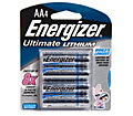 Energizer 4-Pack AA e2 Lithium Batteries