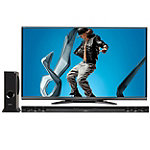 Sharp 70' Full HD AQUOS® Q+ 3D LED Smart TV with Soundbar and Wireless Subwoofer 2399.99