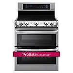 LG 30' Stainless Steel ProBake Convection™ Double Oven Electric Range