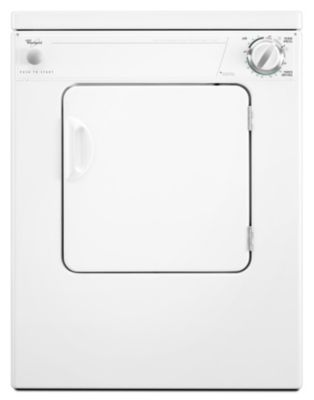 Whirlpool 3.4 Cu. Ft. Compact Electric Dryer
