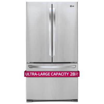 LG 28 Cu. Ft. Stainless Steel French Door Refrigerator