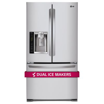 LG 24.1 Cu. Ft. Stainless Steel French Door Refrigerator