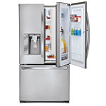LG 31 Cu. Ft. Door-in-Door Stainless Steel French Door Refrigerator 2299.99
