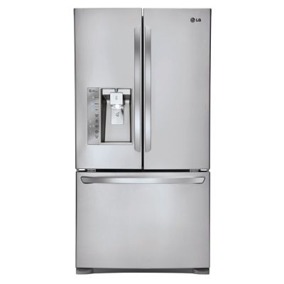LG 24 Cu. Ft. Stainless Steel Counter-Depth French Door Refrigerator
