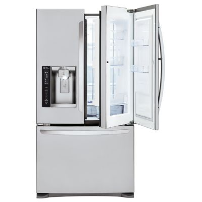 LG 24 Cu. Ft. Door-in-Door Stainless Steel French Door Refrigerator