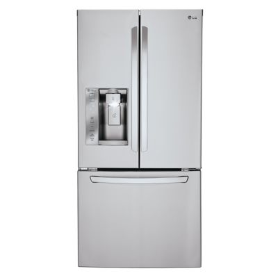 LG 24 Cu. Ft. Stainless Steel French Door Refrigerator