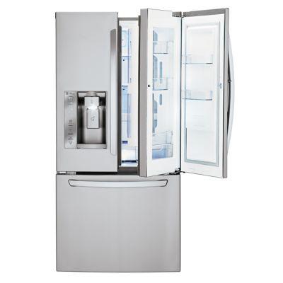 LG 24 Cu. Ft. Door-in-Door Stainless Steel French Door Refrigerator