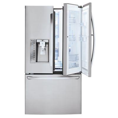 LG 30 Cu. Ft. Door-in-Door Stainless Steel French Door Refrigerator