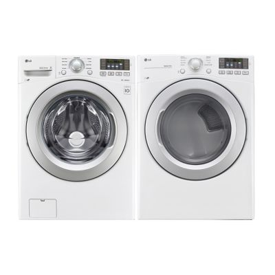 LG 45 Cu Ft Front Load Washer And 73