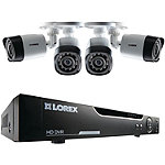 Lorex 4-Channel 1TB 720p HD DVR System with 4 Cameras