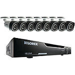 Lorex 16-Channel 720p HD Security DVR System with 8 Cameras