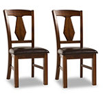 Steve Silver Jasper Dining Chairs (Sold in Pairs) 238.00
