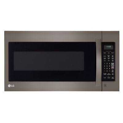 LG 2 Cu. Ft. 1,000-Watt Black Stainless Steel Over-the-Range Microwave