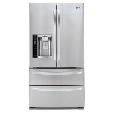 LG 27 Cu. Ft. Stainless Steel 4-Door French Door Refrigerator