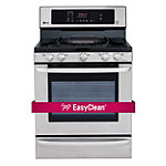 LG 30' Stainless Steel Convection Gas Range 1378.50