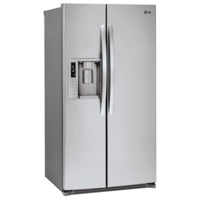 LG 27 Cu. Ft. Stainless Steel Side-by-Side Refrigerator