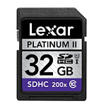 Lexar 32GB SD High-Capacity Memory Card, 200X Speed