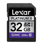 Lexar 32GB SD High-Capacity Memory Card, 200X Speed
