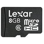Lexar 8GB microSDHC™ Mobile Card 12.95
