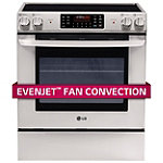 LG 30' Stainless Steel Slide-in Electric Range