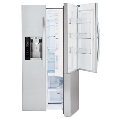 LG 26 Cu. Ft. Stainless Steel Door-in-Door Side-by-Side Refrigerator