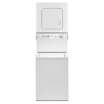Whirlpool Stack Laundry Center with 1.5 Cu. Ft. Washer and 3.4 Cu. Ft. Electric Dryer