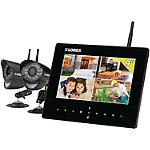 Lorex Home Wireless Video Security System with Live SD+, 9' Monitor and 2 Cameras