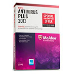 McAfee AntiVirus Plus 2013 PC 1-User 39.99