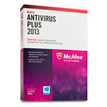 McAfee AntiVirus Plus 2013 PC 3-User 59.99