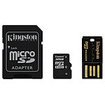 Kingston 32GB microSDHC Multi Kit Class 4 30.00