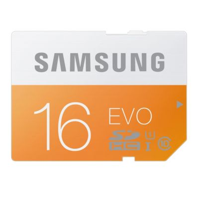 Samsung 16GB EVO SDHC Card