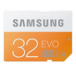 Samsung 32GB EVO SDHC Card 27.99