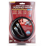Monster Cable 6.56' HDMI 700HD Advanced High Speed HDMI Cable with Ethernet