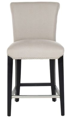 Safavieh Taupe Seth Counter Chair