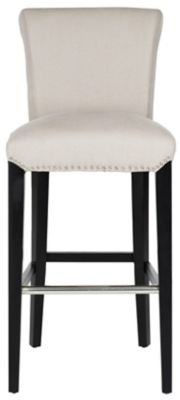 Safavieh Cream Seth Bar Chair