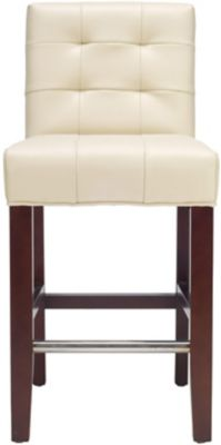 Safavieh Cream Thompson Counter Chair