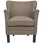 Safavieh Brown Jenny Arm Chair