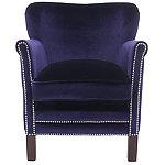 Safavieh Royal Blue Jenny Arm Chair