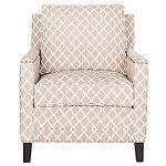 Safavieh Peach Buckler Club Chair